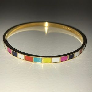 Kate Soade multicolor bangle